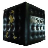 Cube publicitaire gonflable PVC 4 x 4 x 4 m