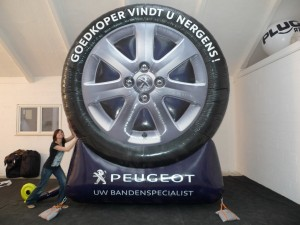 Roue gonflable Peugeot